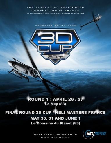 3D Cup 2014_dates