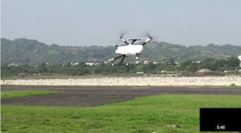 m480 en vol