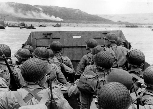 Normandy Invasion, June 1944 Crédit photo : Army Signal Corps Collection in the U.S. National Archives