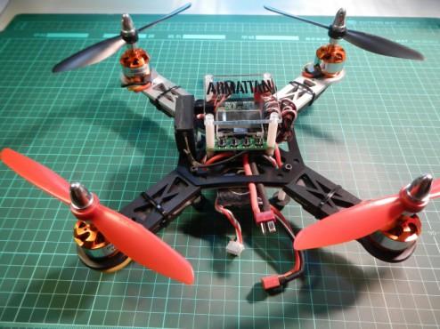 cnc-258mm-sports-quad-with-kk2-and-devo-rx