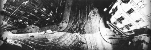 Vue de Francfort, en Allemagne, en 1908