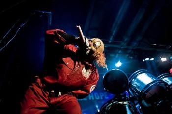 Shawn Crahan du groupe Slipknot Crédit photo : Slipknot