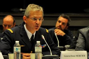 Général Denis Mercier, chef d'état-major de l'armée de l'air au ministère de la Défense