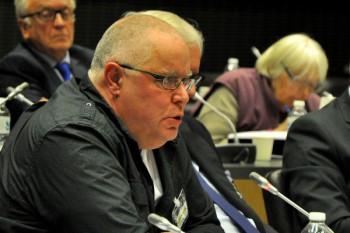 Yannick Rousselet, responsable des questions nucléaires Greenpeace France