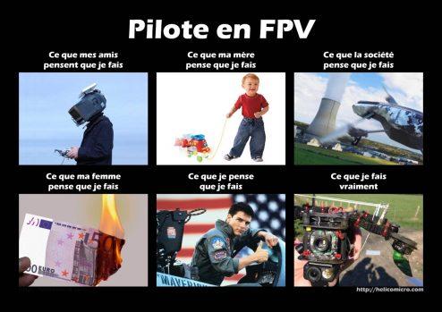 pilote en FPV-1200