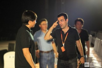 Hugo Barra, vice-président de Xiaomi.
