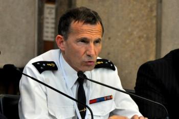 Eric Darras, général de division à la Gendarmerie Nationale.