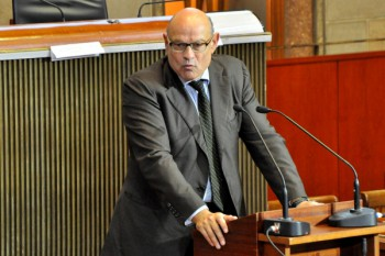 Jean-Marie Le Guen, secrétaire d'Etat chargé des Relations avec le Parlement.