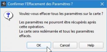 GCS - Erase settings