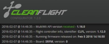 Cleanflight - API 1.16.0