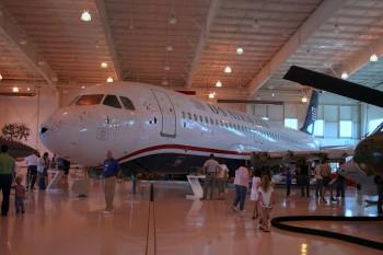 L'Airbus A320 US Airways 1549 exposé au Carolinas Aviation Museum Crédit photo Radiofan