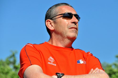 Frédéric Theurel, en charge du FPV racing à la FFAM