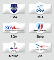 armees-logos