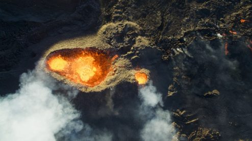 3rd Prize Winner category Nature_Wildlife, Piton de la fournaise volcano by Jonathan Payet