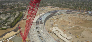 Apple Campus 2 en construction