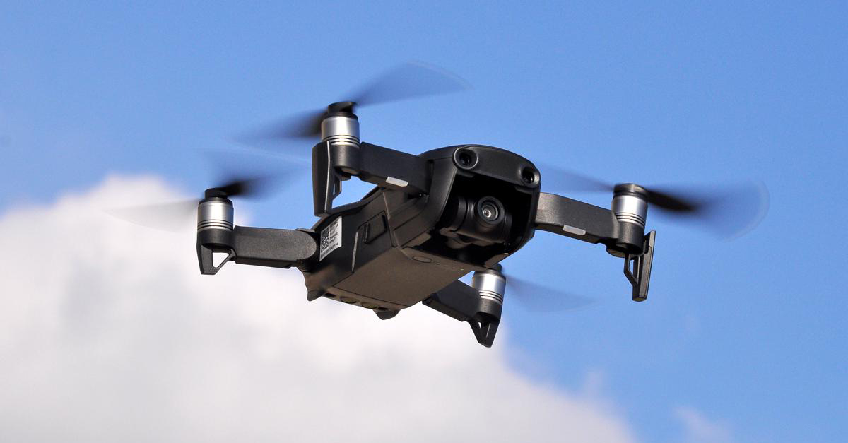 parrot drone qatar