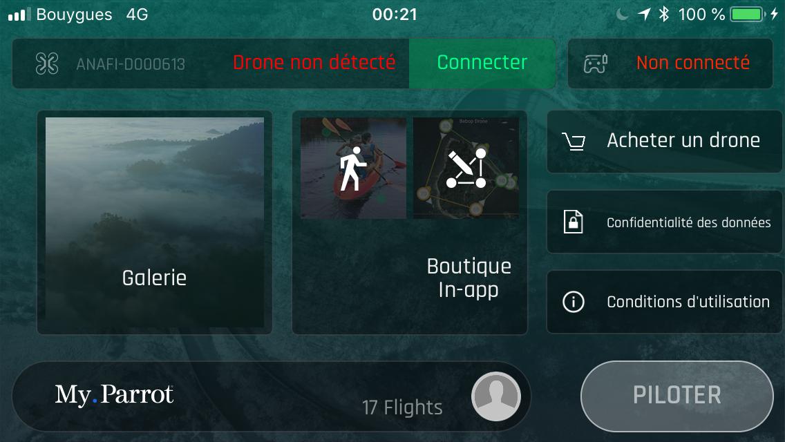 Drone PARROT - Anafi [TU] - Robotique et modélisme